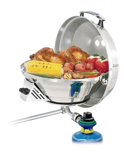 """A10-207-3CE-2 Kettle Combination Stove & Gas Grill 15"""""""